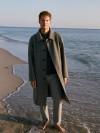 Прямое пальто из шерсти и кашемира