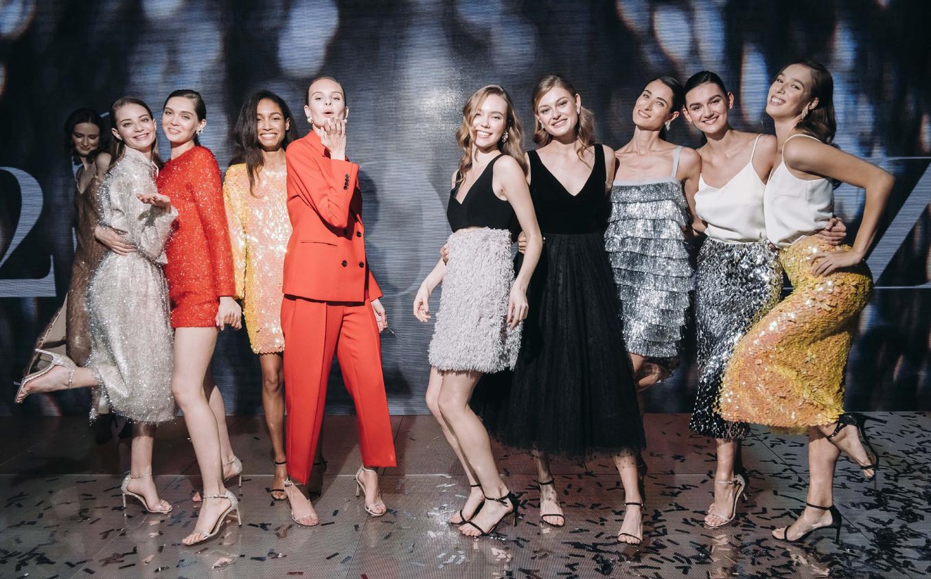 Новогодние образы 12Storeez: фото с презентации в Цветном