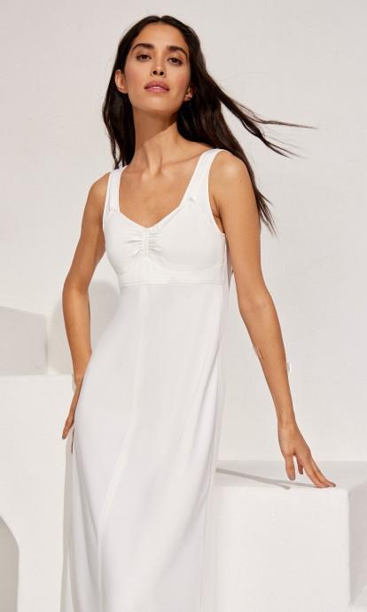 Платье-комбинация на широких бретелях