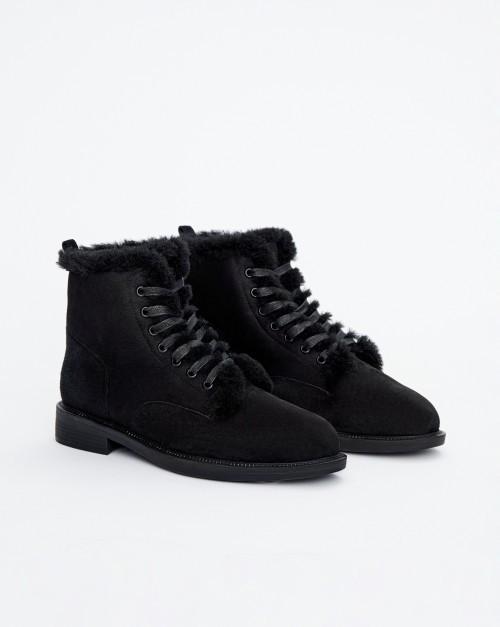 Городские ботинки на меху