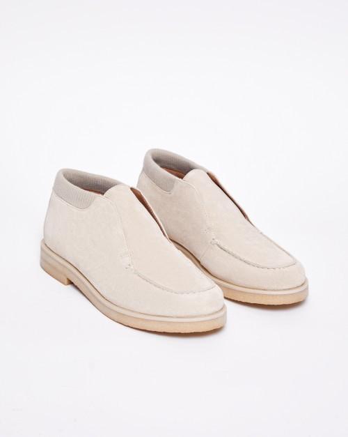 Ботинки на резинке низкие