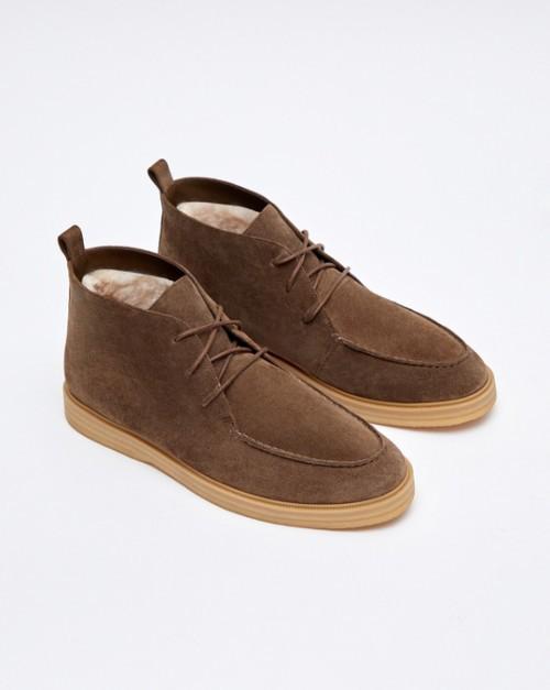 Ботинки низкие с мехом