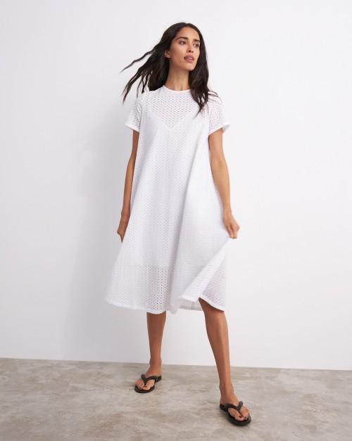 Платье-футболка из шитья