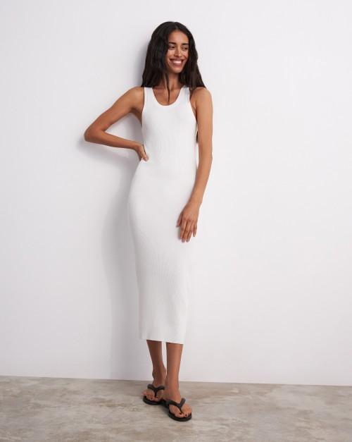 Платье-майка вязаное