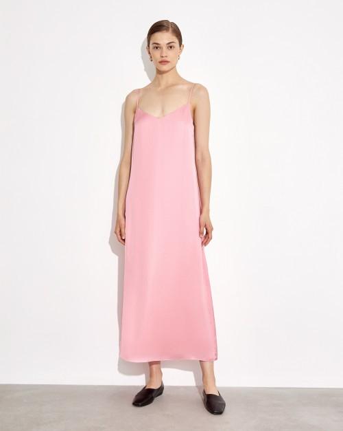 Платье-комбинация свободного кроя
