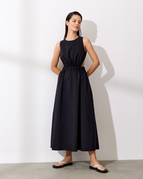 Платье со сборкой