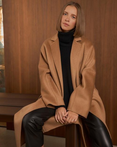 Пальто-халат из кашемира