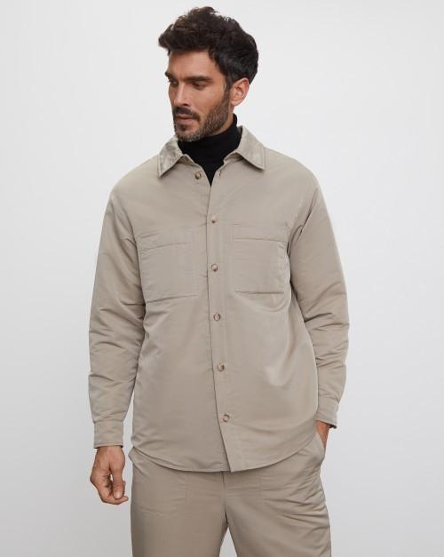 Куртка-рубашка стеганая