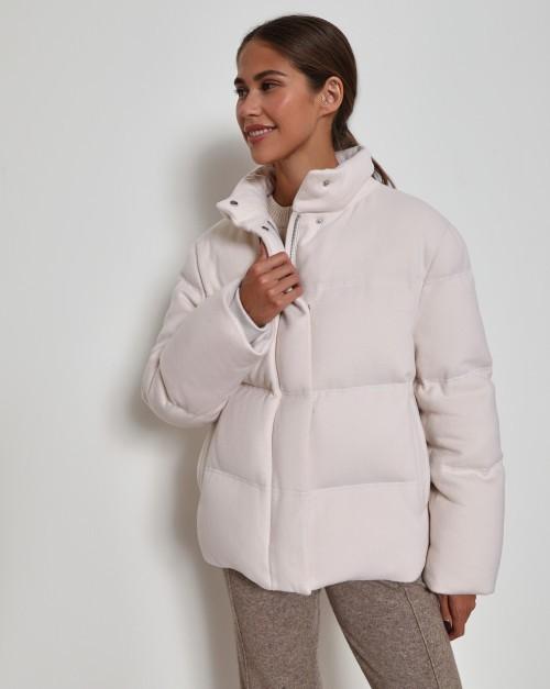 Куртка укороченная из шерсти