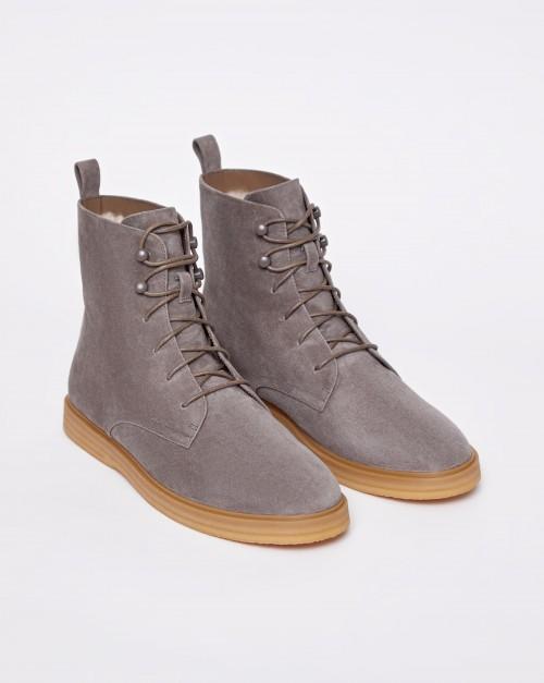 Ботинки высокие с мехом