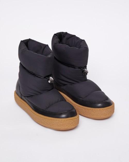 Ботинки дутые